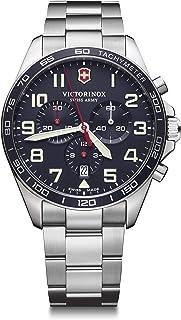 Victorinox - Hombre Field Force Chronograph - Reloj de Acero Inoxidable de Cuarzo analógico de fabricación Suiza 241857