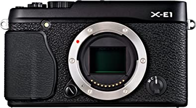 Fujifilm X-E1 16.3 MP Compact System Digital Camera with 2.8-Inch LCD - Body Only (Black)