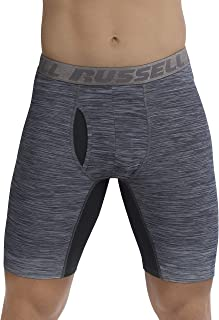 Russell Athletic Men's Freshforce Odor Protection Performance Boxer Brief (2 Pack)