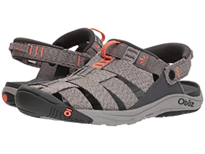 Oboz Campster (Heather Gray/Coral) Women