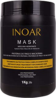 INOAR PROFESSIONAL - Macadamia Oil Premium Mask - Unique Blend of Macadamia Nut Protein and Wheat Protein to Condition and...
