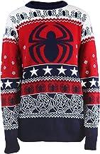 Jersey navideño de Punto con Logo Marvel Spider-Man Unisex