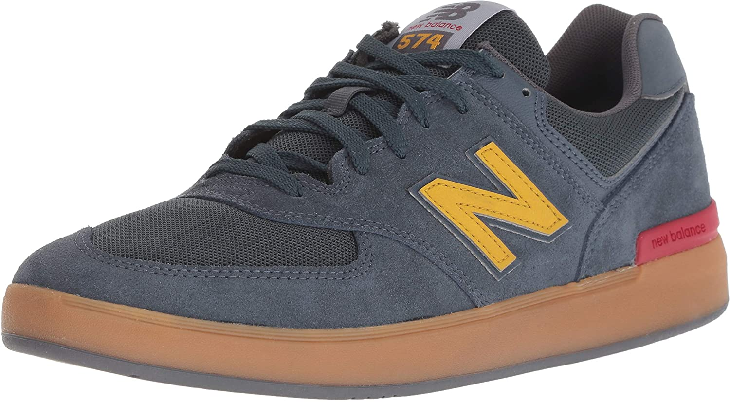 New Balance Men's 574v1 All Coast Skate schuhe, Light Navy Navy Navy Gum, 6 2E US B07BF424ZC  Abgabepreis d007e0