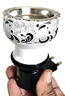 90 Degree Electric Shock Proof, Plug in, Camphor Diffuser, Incense Burner Holder Kapoor Dani Bakhur Oodh Liquid Fragrance ...