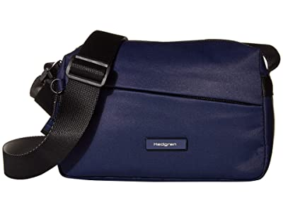 Hedgren Neutron Small Crossover (Halo Blue) Cross Body Handbags