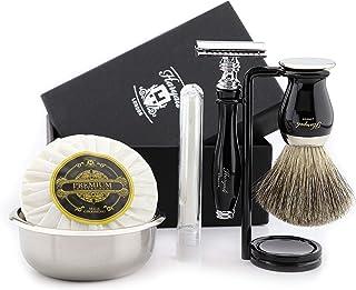 Luksusowy zestaw do golenia dla mężczyzn zestaw do golenia golarki