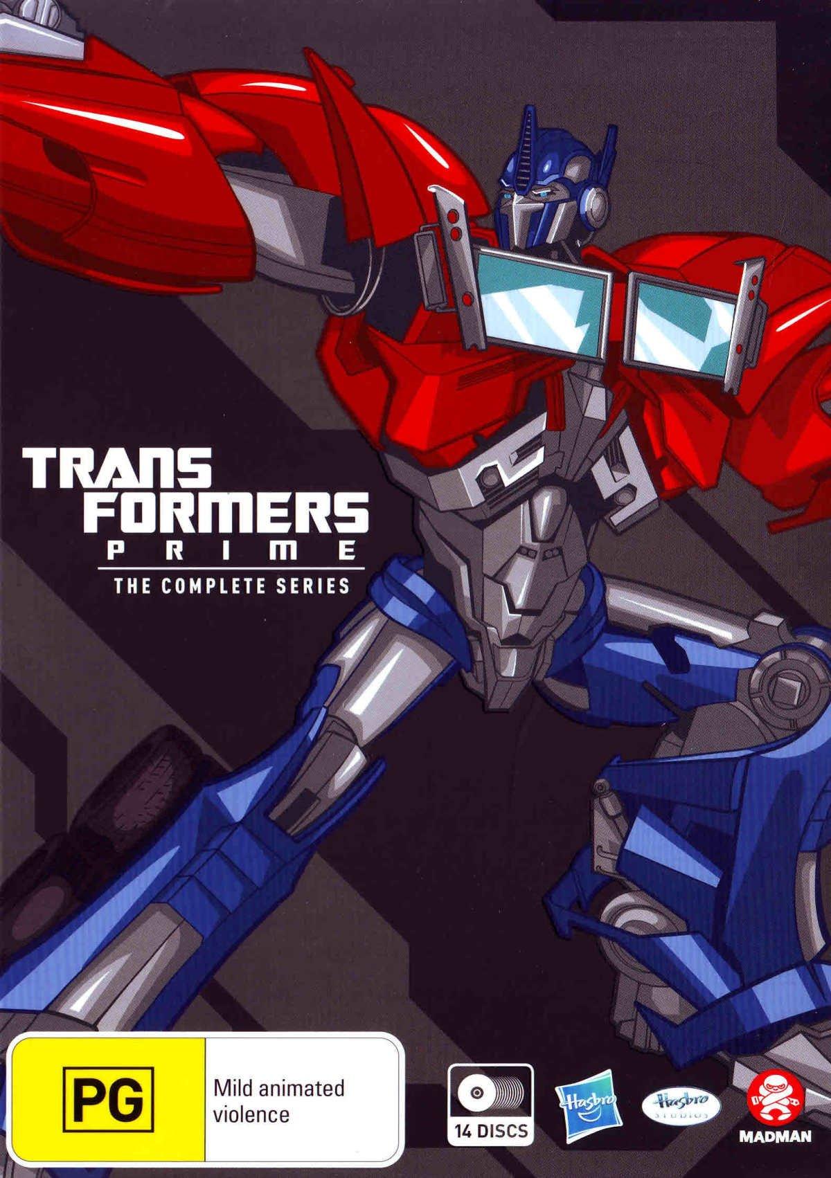 Transformers Prime Complete TV Series Boxset | 14 Discs | NON-USA Format | PAL | Region 4 Import - Australia