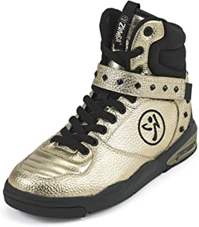 Zumba Womens - Women's Air Classic Athletic Dance Workout with Max Impact Protection Sneaker