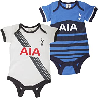 Tottenham Hotspur FC Baby Body Set con Escudo Club (Lote de 2)