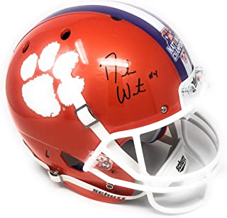 Deshaun Watson Clemson Tigers Signed Autograph Full Size Helmet BCS Champs Edition Steiner Sports Certified