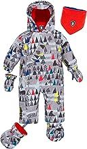 Deux par Deux Little Boys' 1-Piece Snowsuit Forest Exploration, Sizes 12M-24M
