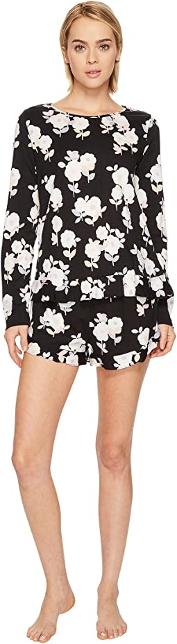 Kate Spade New York - Large Floral Short Pajama Set