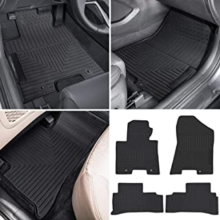 Car Floor Mats Front /& Rear Liner Waterproof Mat For Hyundai Tucson 2015-2019
