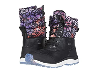 UGG Adirondack Boot III Graffiti (Black) Women