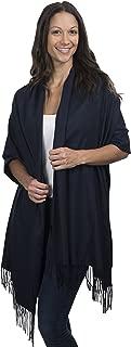 Large Soft Cozy Cashmere Pashmina Woven Scarf Wrap Womans Warm Shawl Stole+ Gift Box