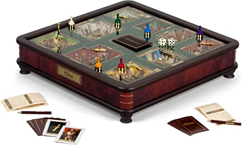 tiendas minoristas Clue Luxury Edition Board Game by Winning Winning Winning Solutions by Winning Solutions  presentando toda la última moda de la calle
