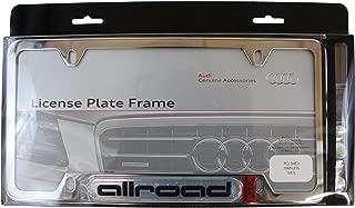AUDI Genuine Accessories ZAW071801E License Plate Frame