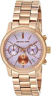 Michael Kors Womens Quartz Watch, Analog Display and Stainless Steel Strap MK6163
