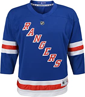 Outerstuff NHL NHL New York Rangers Kids & Youth Boys Replica Jersey-Home, Blue, Kids One Size