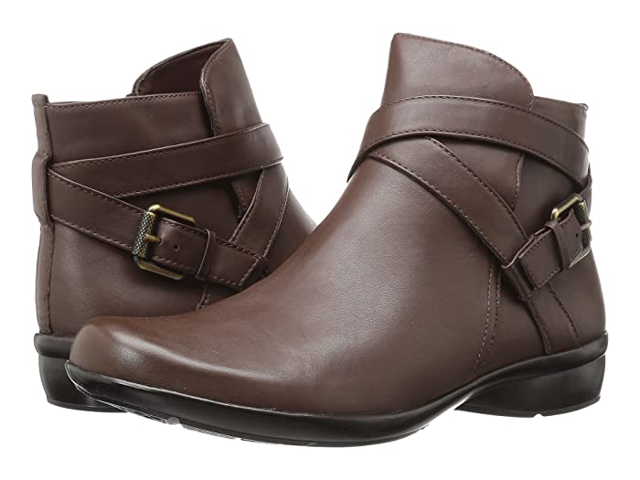 Naturalizer  Cassandra (Brown Leather) Womens Pull-on Boots