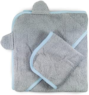 pure baby hooded towel
