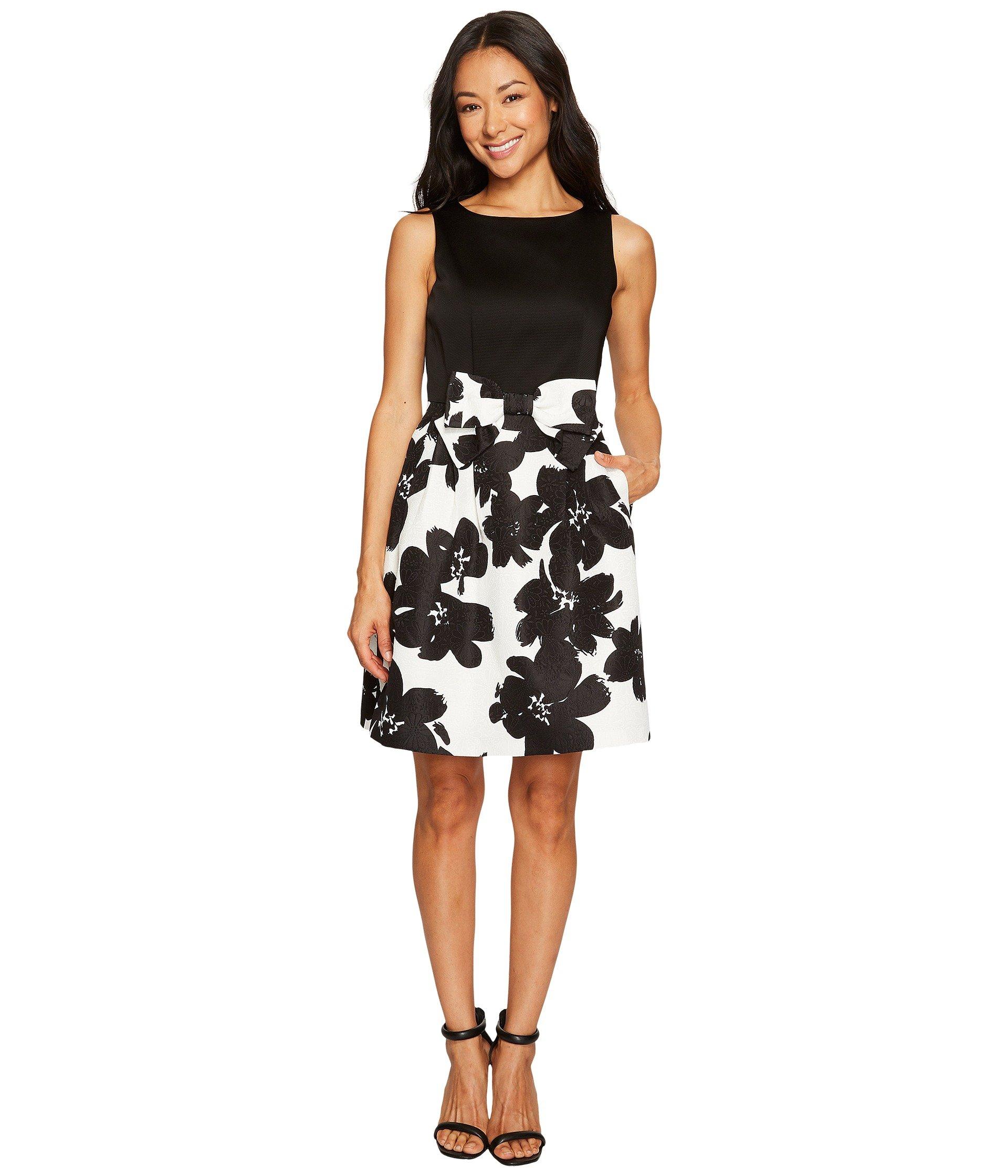 Tahari By Asl Petite Jacquard Skirt Fit And Flare Dress At 6pm