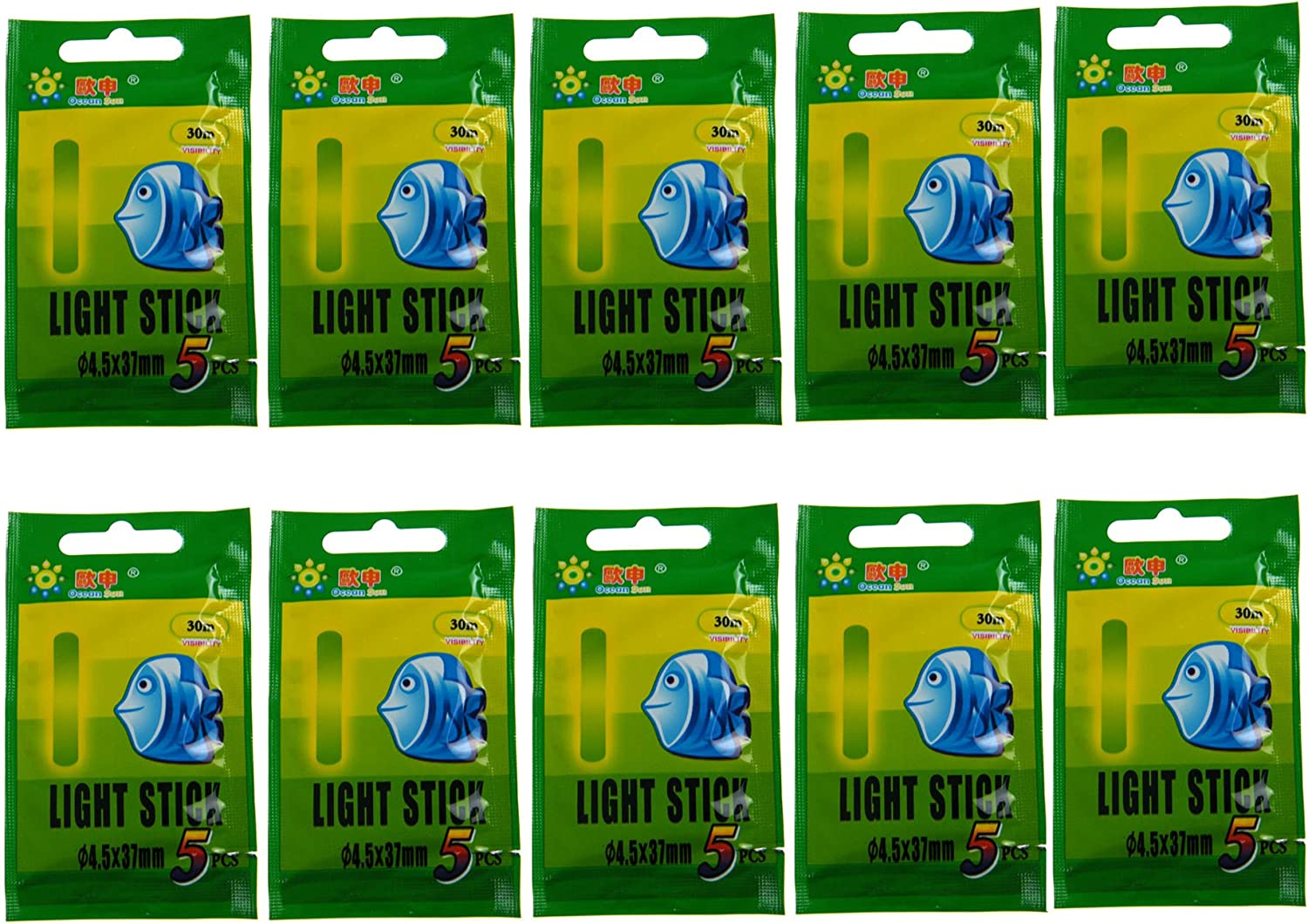 QualyQualy Fishing Glow Sticks for Max 42% Popular standard OFF 1.5