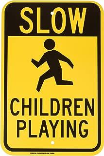 Brady 124435 Traffic Control Sign, Legend