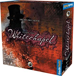 Letters from Whitechapel Board Game Revised Edition   Strategy Game for Teens and Adults   Detective Board Game   Ages 13 ...