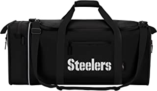 Officially Licensed NFL Steal Duffel Bag, Multi Color, 28