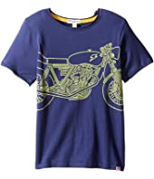 Appaman Kids - Super Soft Shazam Bike Graphic Tee (Toddler/Little Kids/Big Kids)