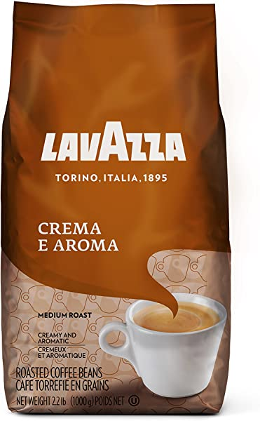 Lavazza Crema E Aroma Whole Bean Coffee Blend Medium Roast 2 2 Pound Bag