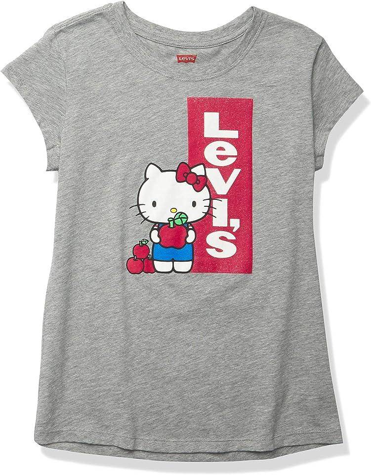 Mädchen Graphic Logo T-Shirt