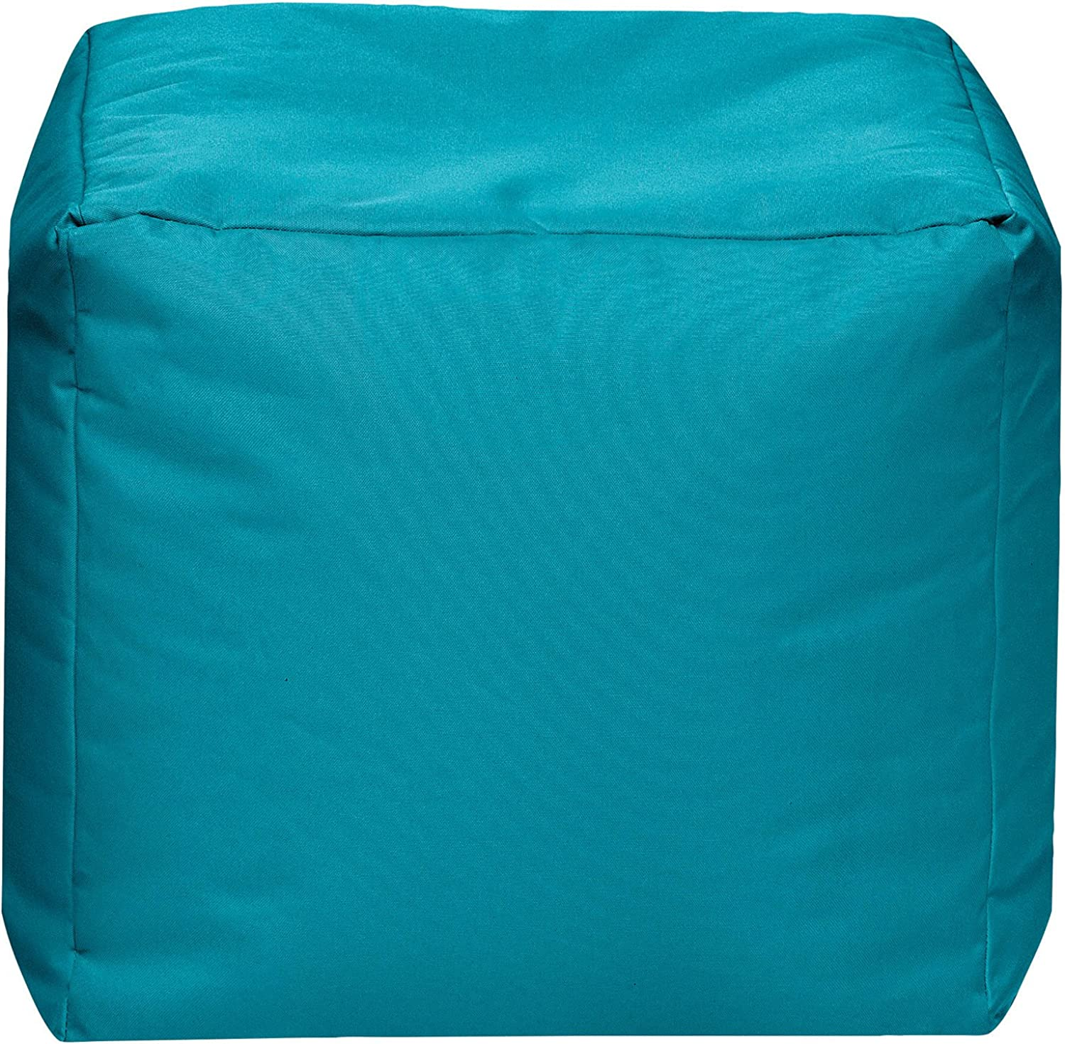 Sitting Point Cube Brava Contemporary Bean Bag Chair (Turquoise)