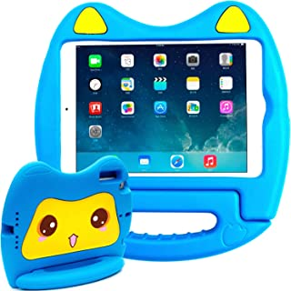 SIMPLEWAY iPad Mini 1 / iPad Mini 2 / iPad Mini 3 case,Kids Friendly Light Weight Handle Convertible Stand Cover Case Compatible with Apple iPad Mini 1/2/3 Tablet,Blue