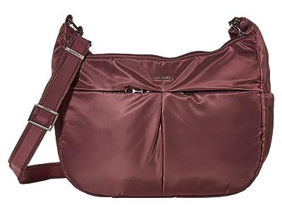 Pacsafe Cruise Carry All Crossbody (Pinot) Handbags