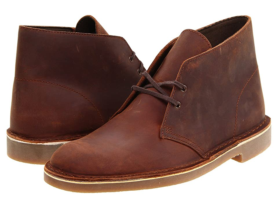 Clarks Bushacre 2 (Brown Leather) Men