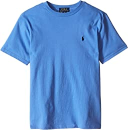 Polo Ralph Lauren Kids - 20/1 Jersey Crew Neck Tee (Big Kids)