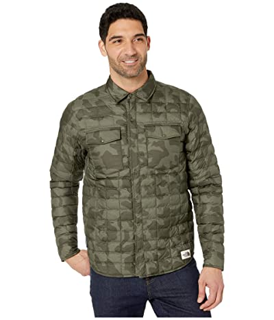 The North Face Thermoball Eco Snap Jacket (New Taupe Green Oversized Camo Print) Men