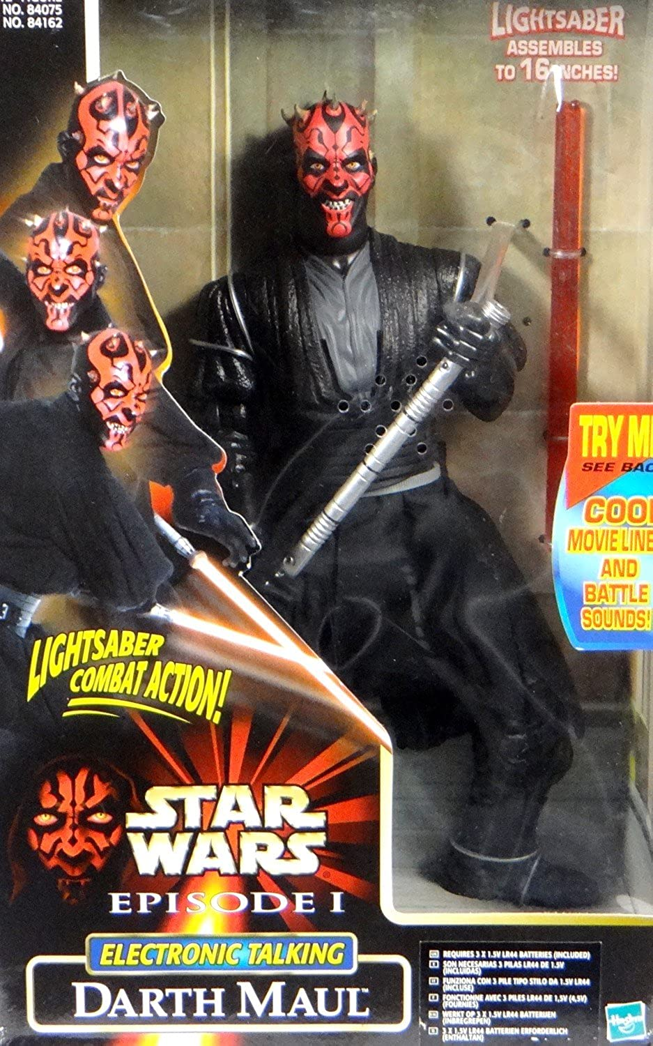 Darth Maul 12  electronic talking figure 12 inch with movie sounds & battle action