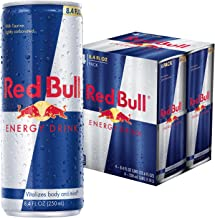 Red Bull Energy Drink, 4pk, 8.4 oz Cans