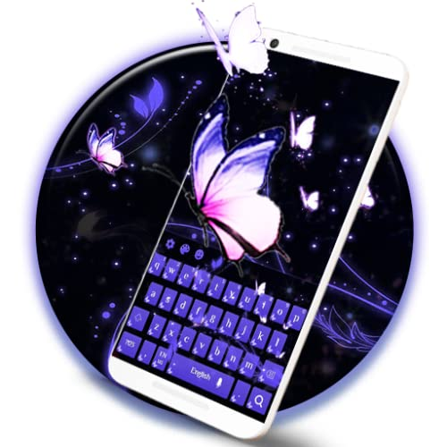 Blazing Butterfly Keyboard