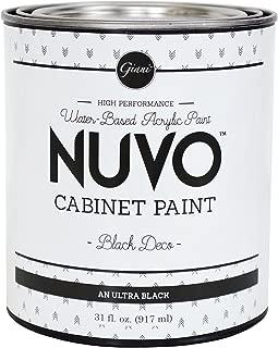 Nuvo Cabinet Paint, Black Deco (Quart)