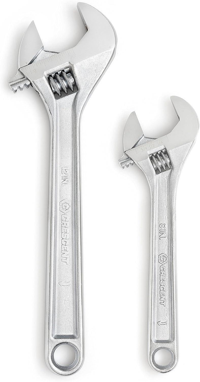 Crescent ac2812vs chrom versilbert verstellbar Schlüssel Schlüssel Schlüssel Schlüssel Set, silber, 203 mm 8 Zoll 305 mm 12 Zoll B00HDRV1JM | Gutes Design  bd14a4