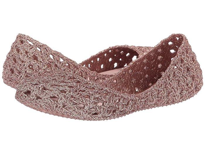 x Campana Crochet Flat Pink Glitter