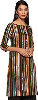 ABOF Women's Cotton A-Line Kurta