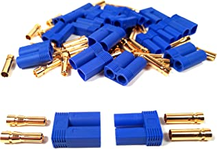 10 Pairs EC5 Battery Connector Plugs By Apex RC Products - Bullet Banana Style Lipo Male Female Sets #1535