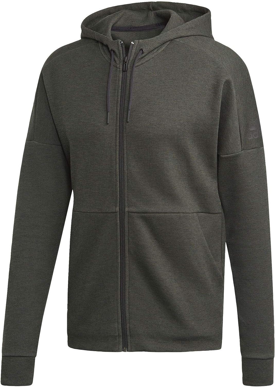 adidas Men's Id All items free shipping Stadium Max 67% OFF Full-Zip Sweatshirt Hooded