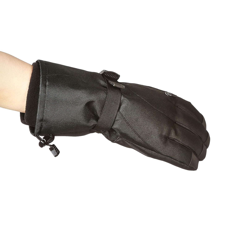 Black S Basics Waterproof Snow Gloves