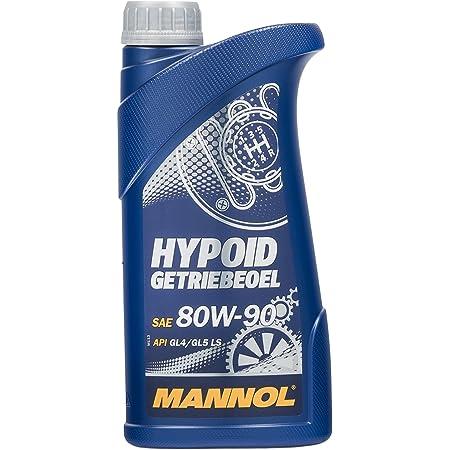 Mannol Hypoid Getriebeoel 80w 90 Api Gl 4 Gl 5 Ls 1 Liter Auto